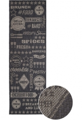 Kusový koberec A1 SPECTRO SISAL GASTRO 6944/3308
