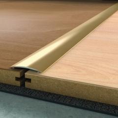 Přechodová lišta 2,5 m x 40 mm písková samolepící