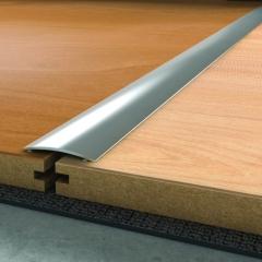Přechodová lišta 2,7 m x 40 mm stříbrná samolepící