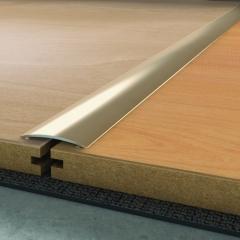 Přechodová lišta 2,7 m x 40 mm č. nerez samolepící